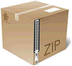 Unzip file in PHP